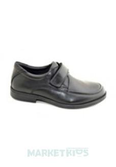 Туфли школьные кожаные Krokky 1705С-11 (черные)