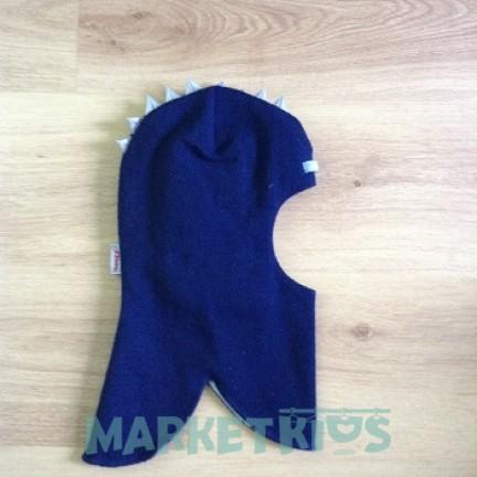 Шлем Beezy (Бизи) 1615/6 дино зимний (синий)