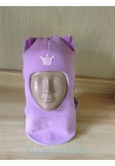 """Шлем Beezy (Бизи) 1450/16 зимний """"кошка"""" (фиолетовый)"""