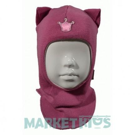 """Шлем Beezy (Бизи) 1450/11 зимний """"кошка"""" (ягодный)"""