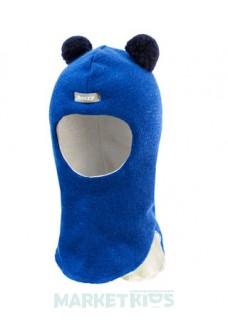 Зимний шлем Beezy 1402/2 мишка (синий)