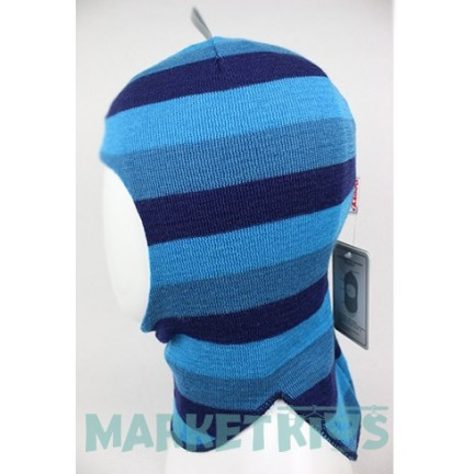 Зимний шлем Beezy (Бизи) 1405/32 балаклава (бирюзовая полоска)