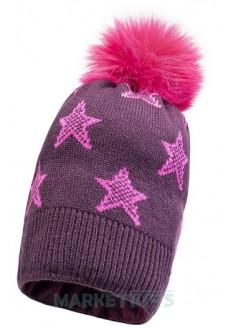 Lenne FIRE 19387/619 шапка зимняя для девочки