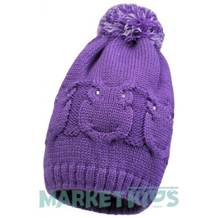 Lenne Gali 19392/366 шапка зимняя для девочки (фиолетовая)