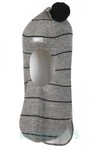 Шлем Lenne MAERON 20580 254 зимний шерстяной (серый в полоску)