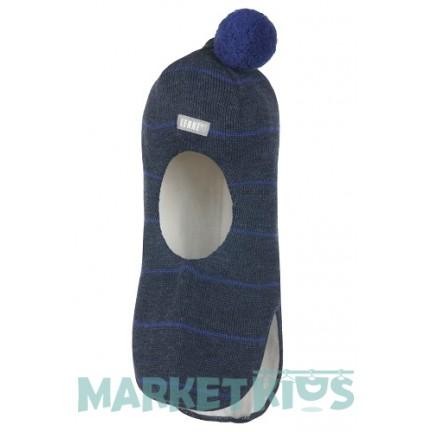 Шлем Lenne MAERON 20580 677 зимний шерстяной (темно синий)