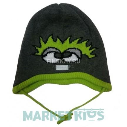 Lenne ZARENA 18246/390 шапка демисезонная для мальчика (серая)