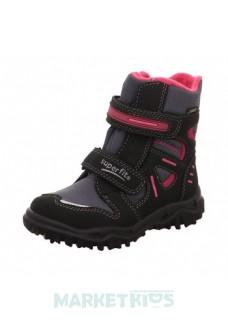 Ботинки зимние SUPERFIT мод. HUSKY (серо-розовые)