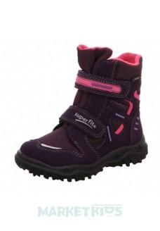 Ботинки зимние SUPERFIT мод. HUSKY (сливовые)