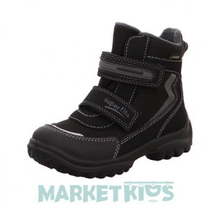 Ботинки зимние SUPERFIT мод. SNOWCAT (черные)
