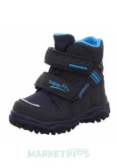Ботинки зимние SUPERFIT мод. HUSKY (сине-голубые)