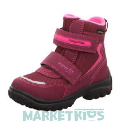 SUPERFIT SNOWCAT ботинки зимние (темно-розовые)