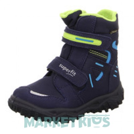 Ботинки зимние SUPERFIT мод. HUSKY (синие) 9080-80
